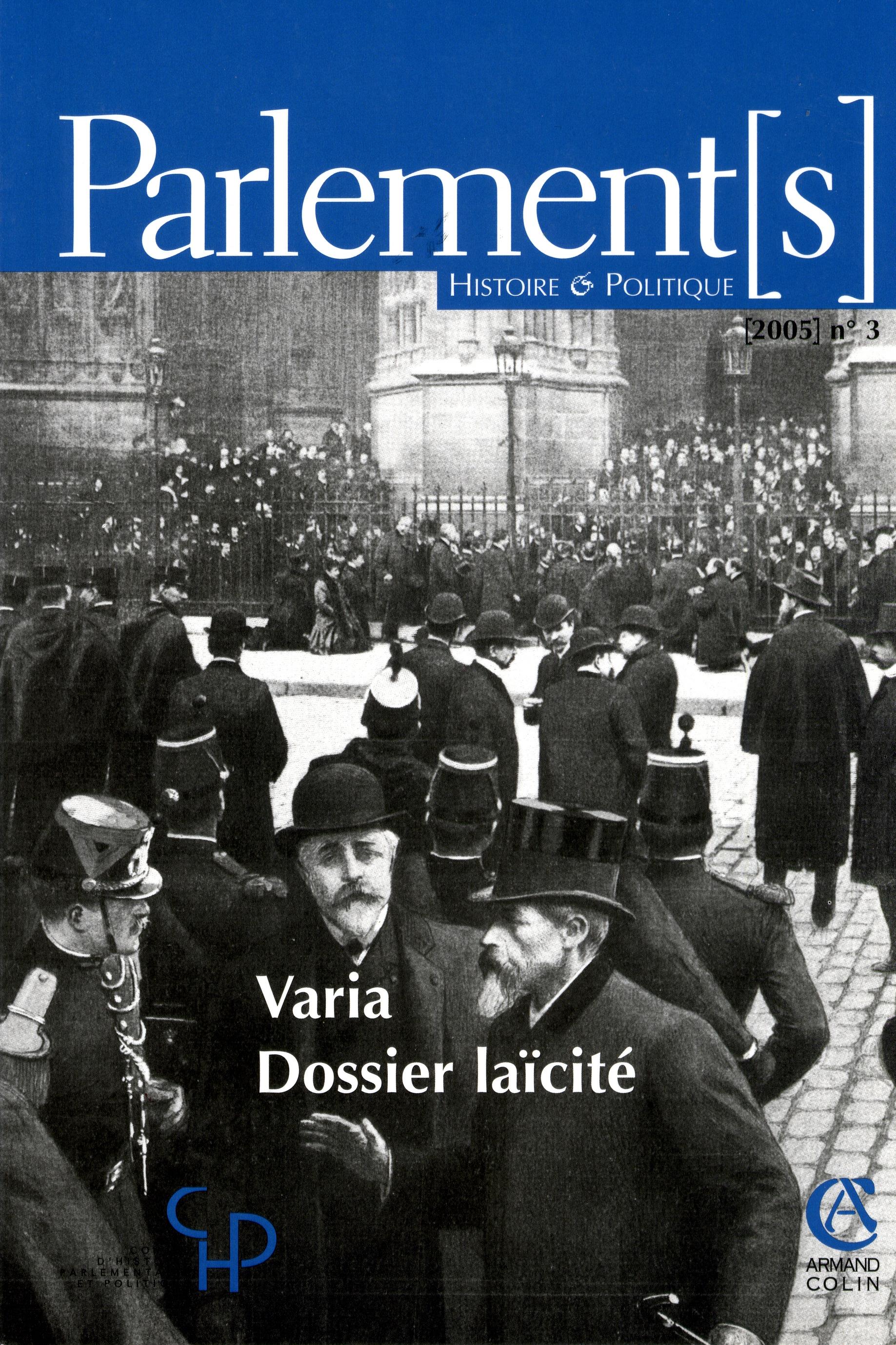 Parlement s revue d 39 histoire politique couvertures en haute d finition - Definition d histoire ...
